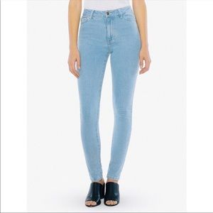 American Apparel | Light Wash Skinny Jeans